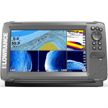 good fish finder with side imaging and down imaging
