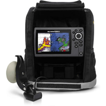 hand held fish finder